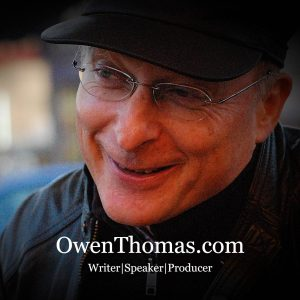Owen Thomas Writer and Speaker